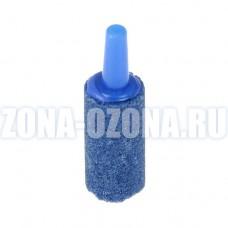 Распылитель воздуха для озонатора, аквариума, синий цилиндр, 40*13,5*4 мм