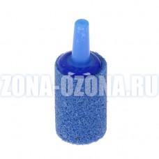Распылитель воздуха для озонатора, аквариума, синий цилиндр, 40*15*4 мм