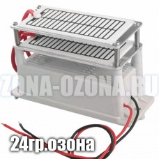Купить недорого, разрядник, сменные пластины, озонирующий элемент, 24 гр/час на 1 м³, для промышленного озонатора воздуха.