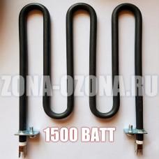 ТЭН воздушный, электрический, мощность 1500 Ватт.