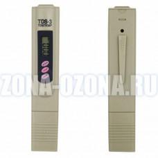 Тестер воды TDS-3 (с чехлом) - солемер, измеритель температуры. Купить недорого TDS метр, с доставкой по Москве.