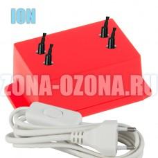 Бытовой ионизатор воздуха для дома, квартиры, офиса IONE-4.0-RED