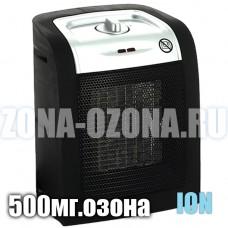 2 в 1, бытовой ионизатор + озонатор воздуха 500 мг