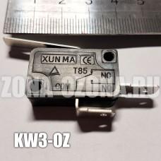 Микропереключатель 2-х контактный с планкой KW3-OZ. Купить недорого, с доставкой по Москве и России.