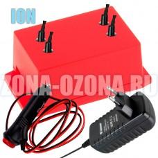 Универсальный ионизатор воздуха для квартиры и авто UNIONE-4.0-RED